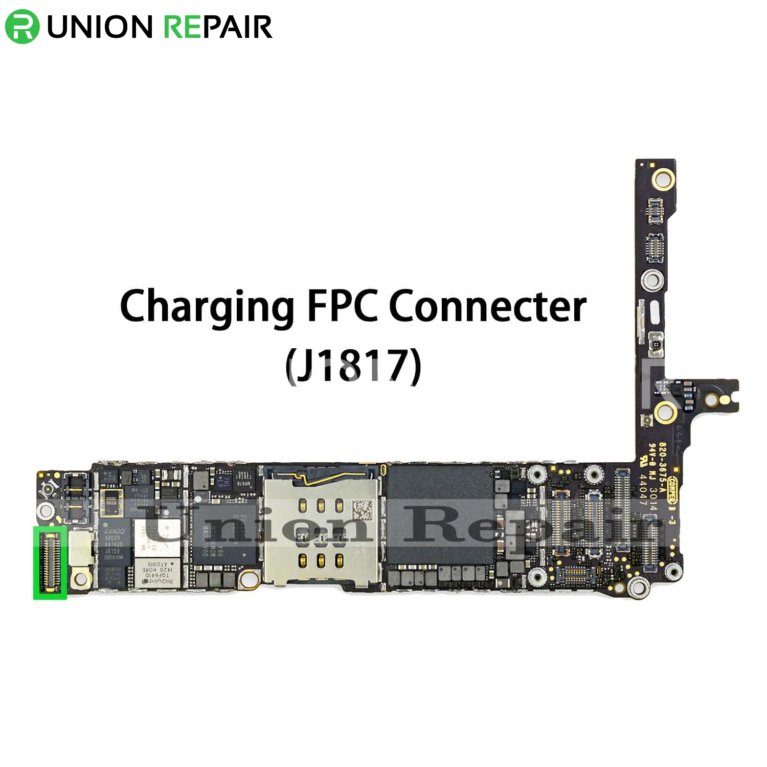 new product 7825f c0036 Replacement for iPhone 6 Plus USB Charging Connector Port Onboard