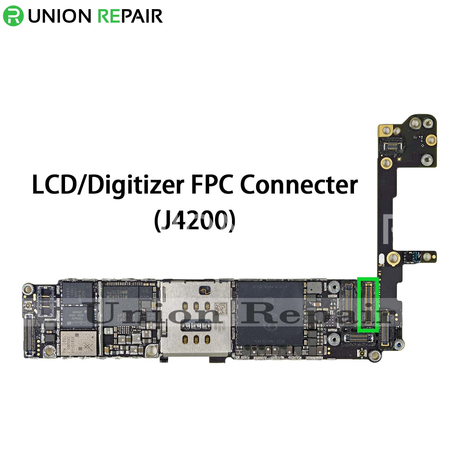 low priced d7bb3 5252e Replacement for iPhone 6S LCD Digitizer Connector Port Onboard