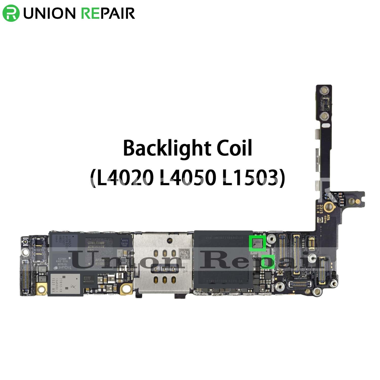 new arrival 931dd 52da7 Replacement for iPhone 6S/6S Plus Backlight Coil L4050 L4020 L1503