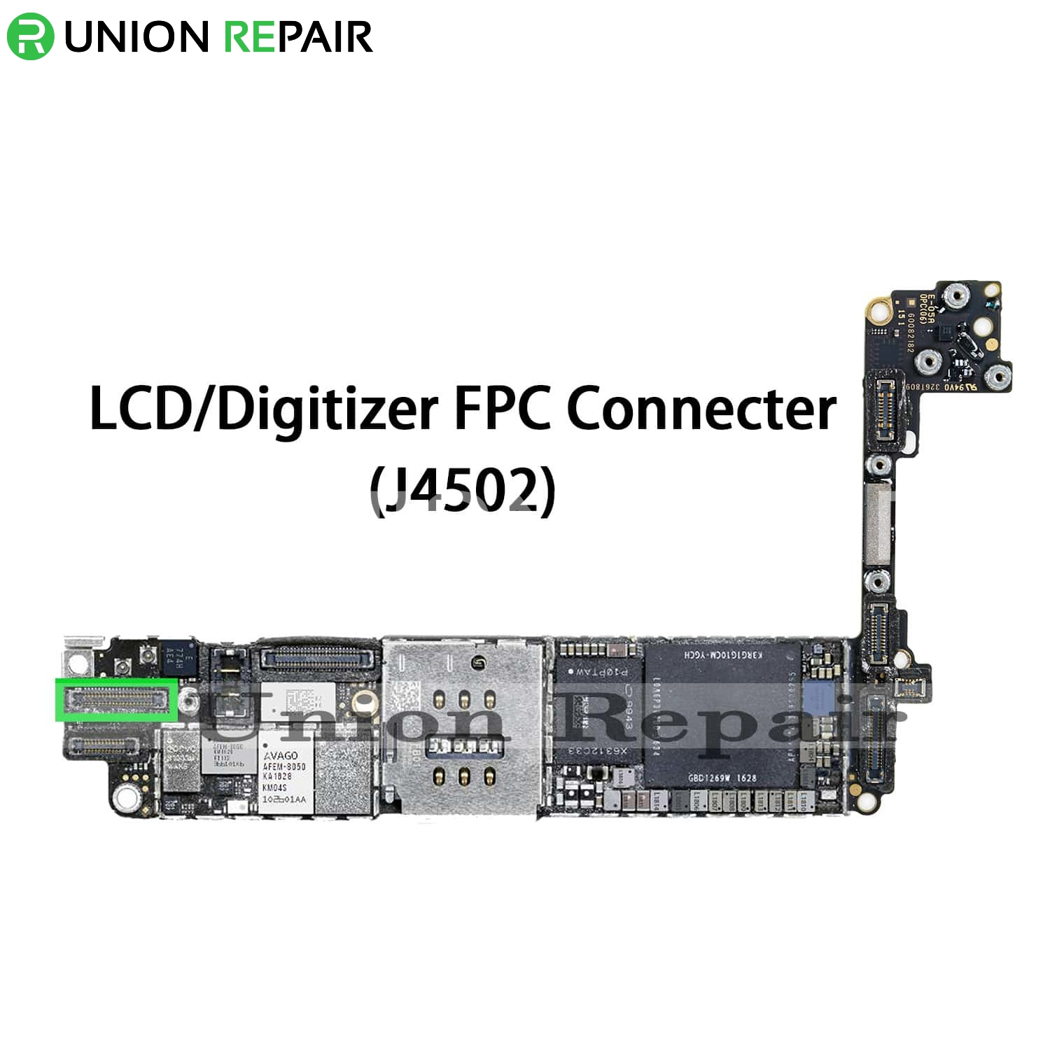 Replacement for iPhone 7 LCD Digitizer Connector Port Onboard