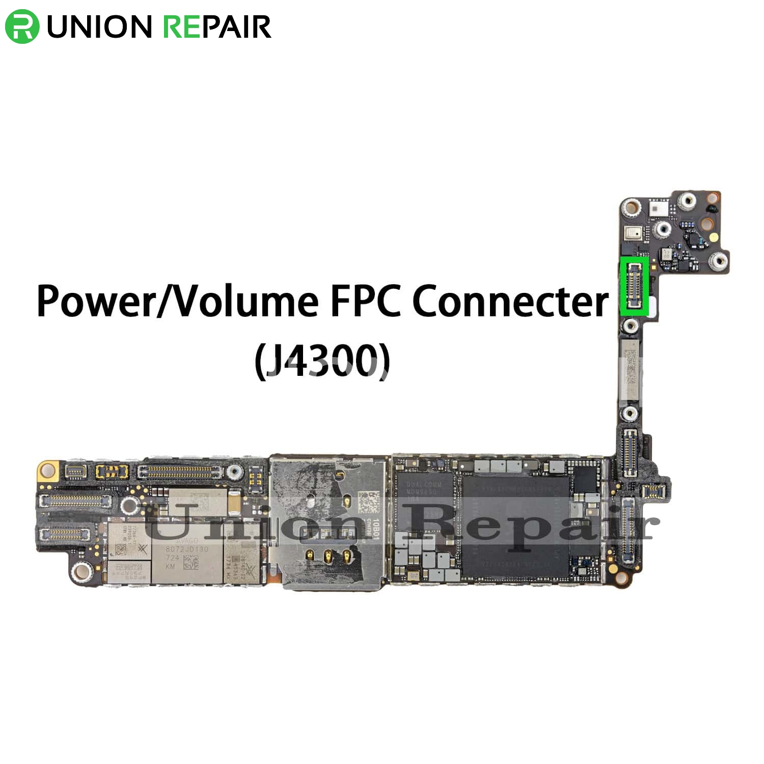 Replacement for iPhone 8 Power Button Connector Port Onboard
