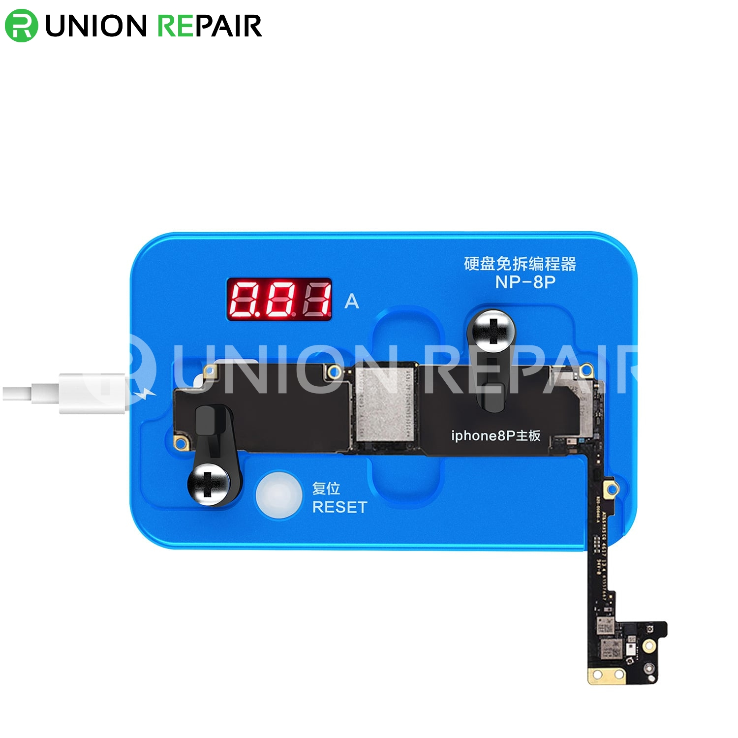 JC NP8P Nand Non-Removal Programmer for iPhone 8 Plus