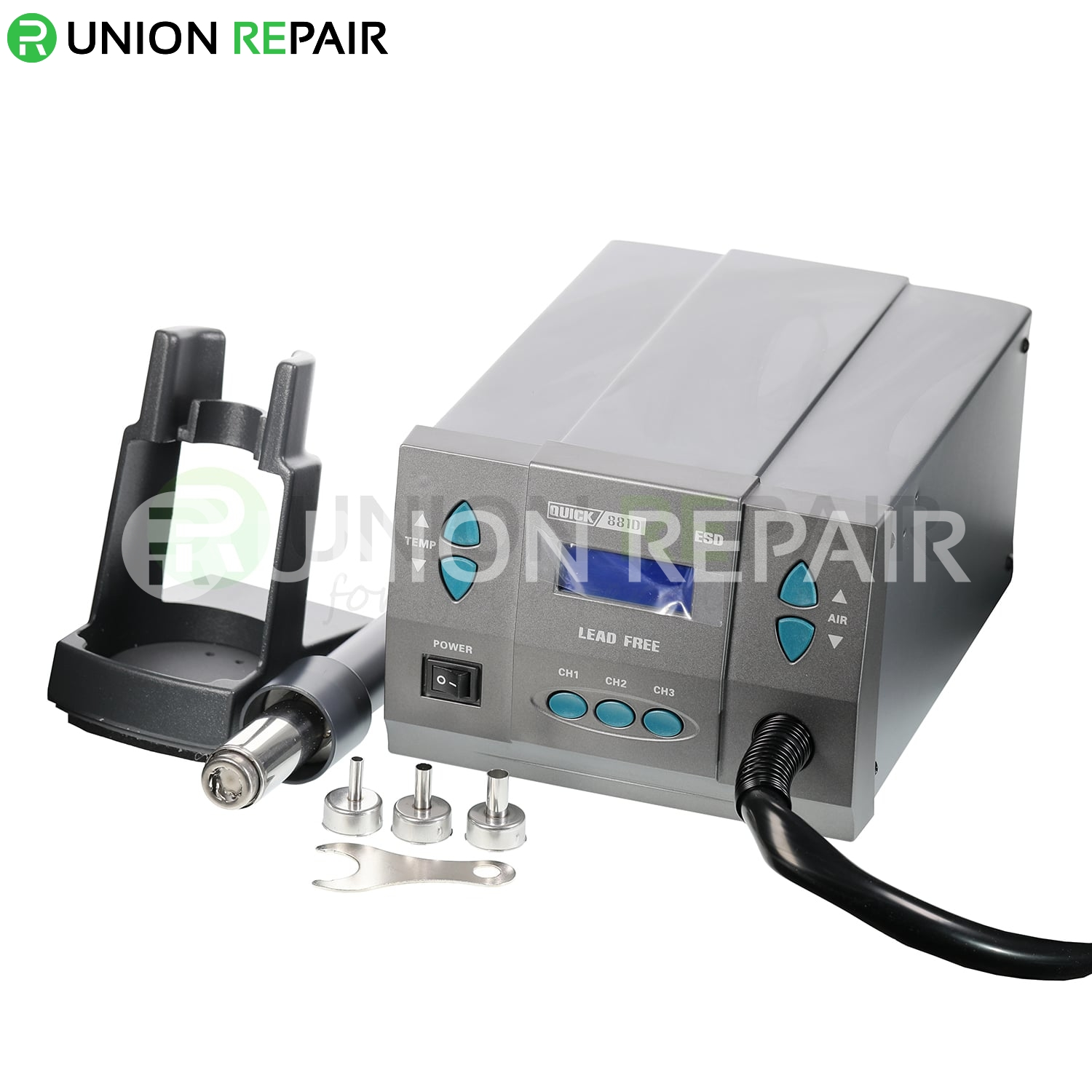 QUICK 881D 1300W Hot Air Desoldering Rework Station