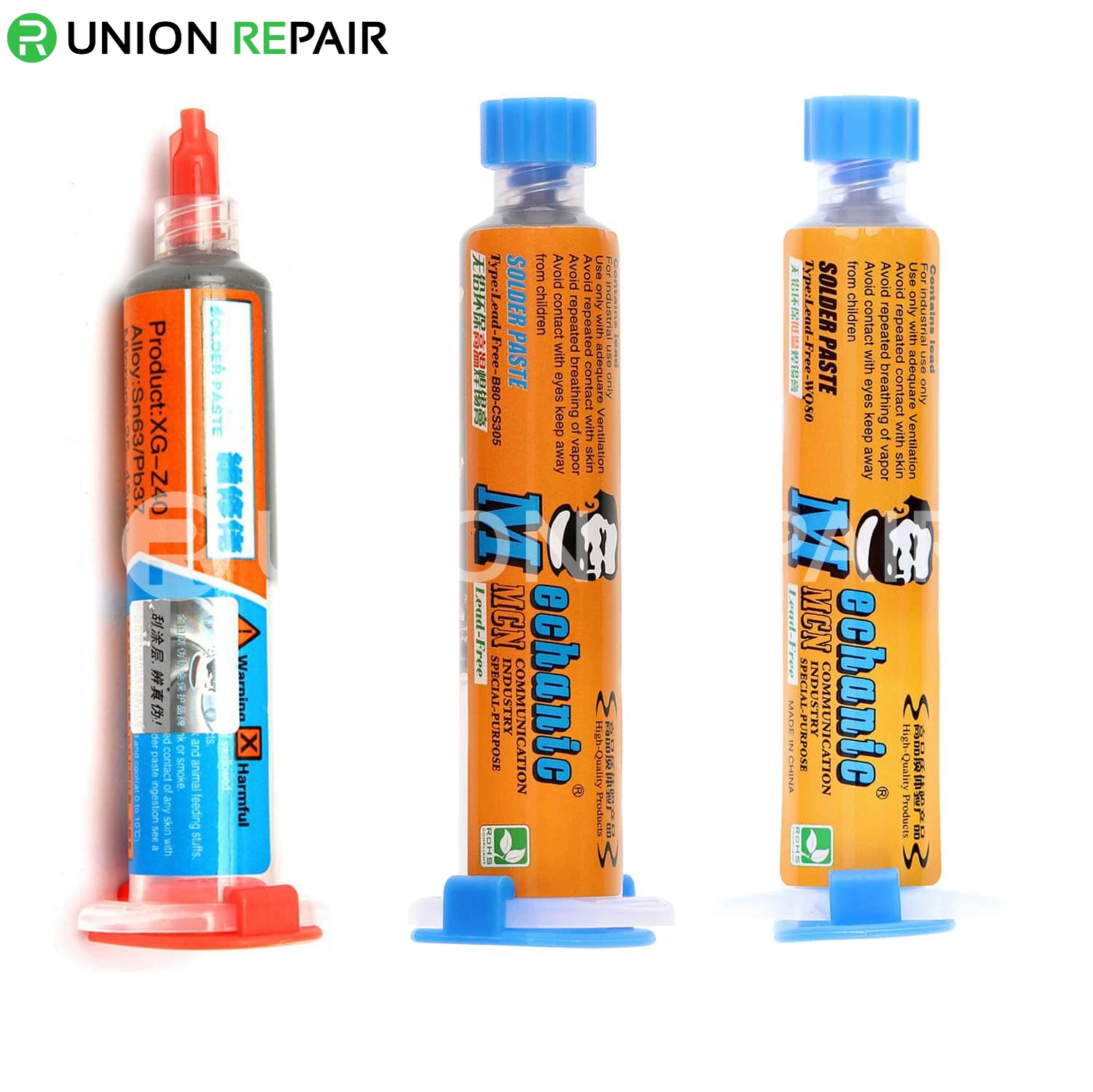 MECHANIC Lead-Free Solder Paste, Type: V6B45 138℃ 40g