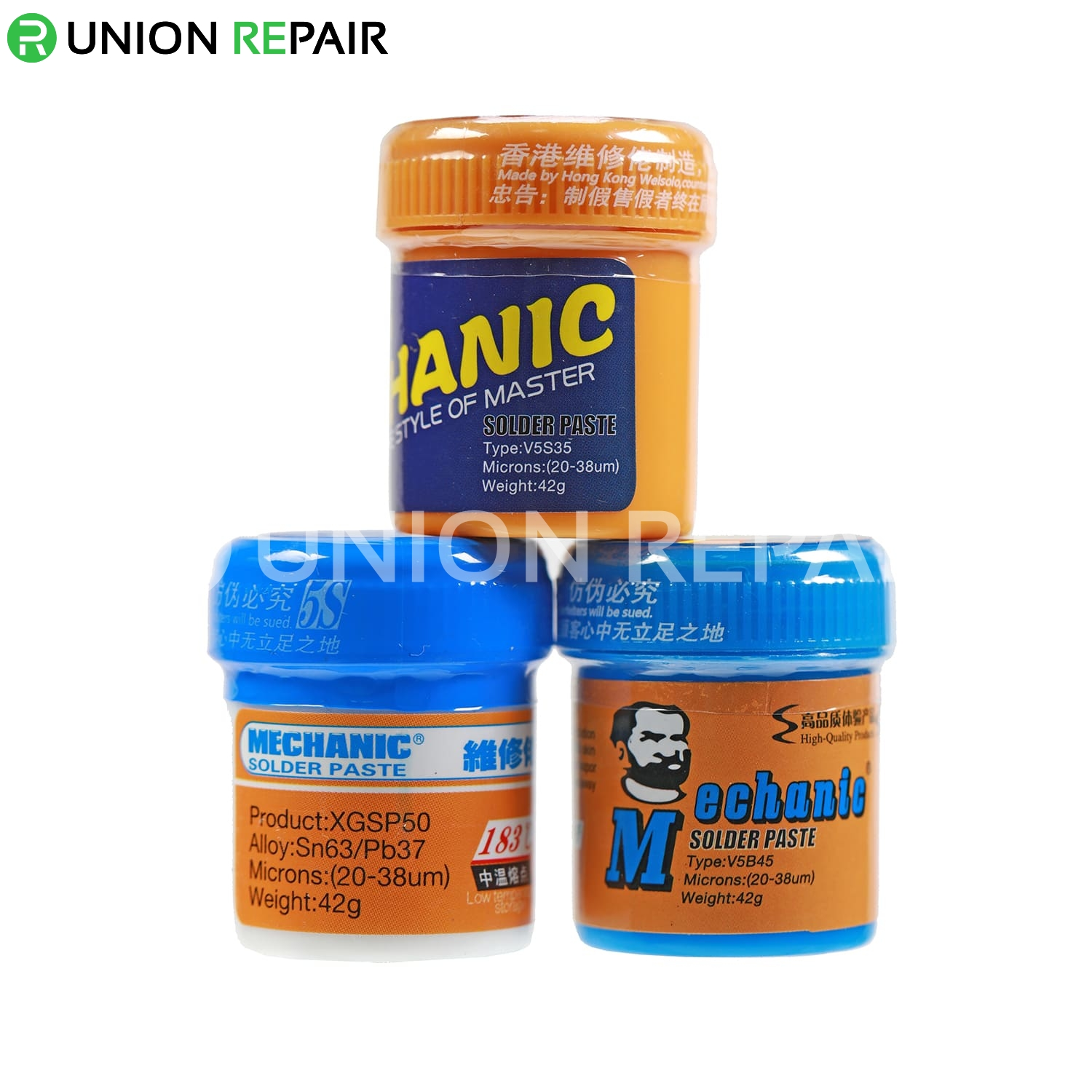 Mechanic Special Solder Paste 42g 138/183/217 degree, Type: V5B45 138 Degree