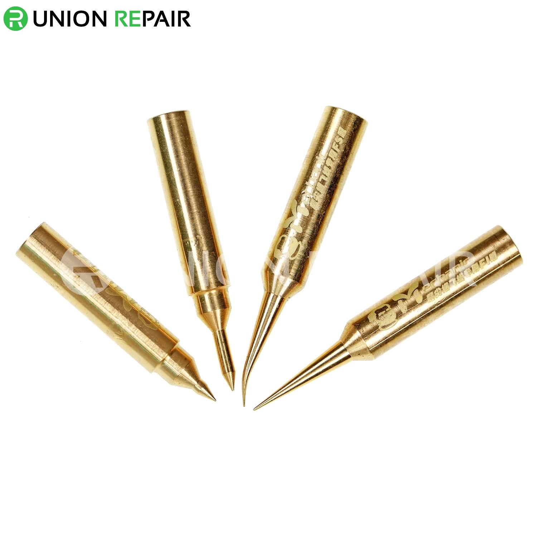 Mechanic Precision Pure Copper Jumper Wire Solder Iron Tip 900M-T Iron Head, Type: 900M-T-FC