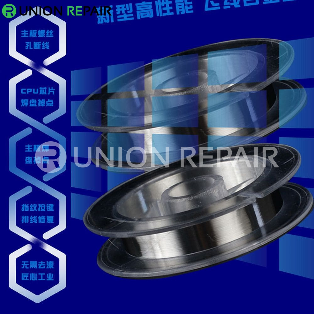 Mechanic Superfine Silver Jump Wire 200M, Type:  FXV009 0.009mm 200M