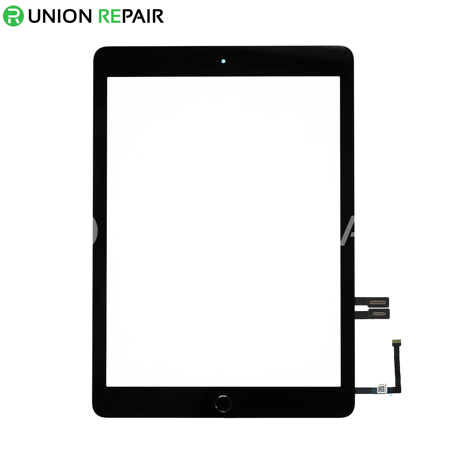 Replacement for iPad 6 Touch Screen Assembly with Black Home Button Assembly - Black