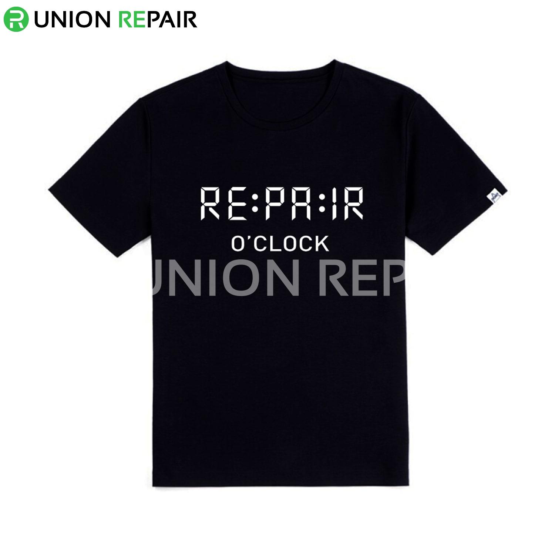 Repair O'Clock Theme T Shirt Made of Top Quality Material