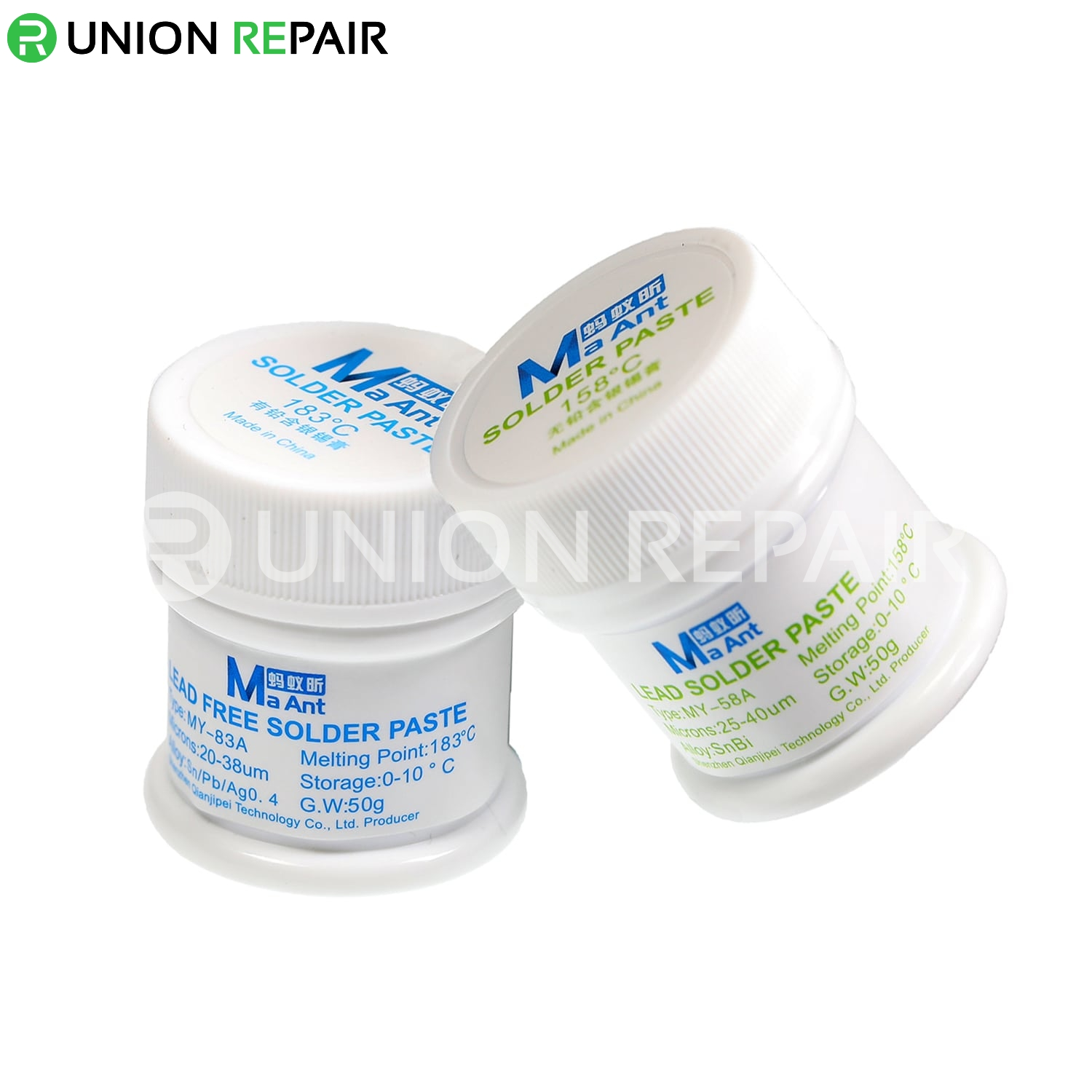 MaAnt Lead Free Solder Paste 158/183 Degree 50g