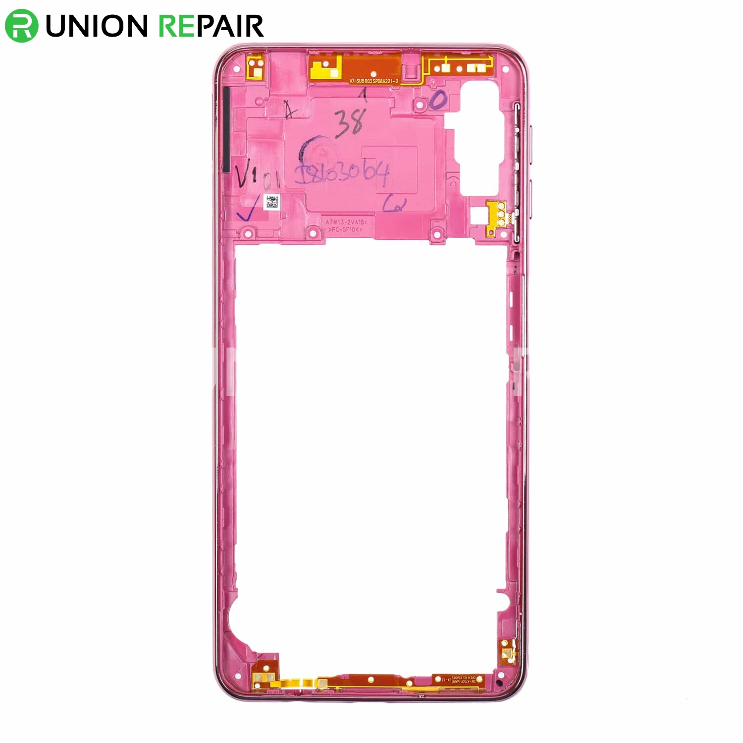 Replacement for Samsung Galaxy A7 (2018) SM-A750 Rear Housing - Pink