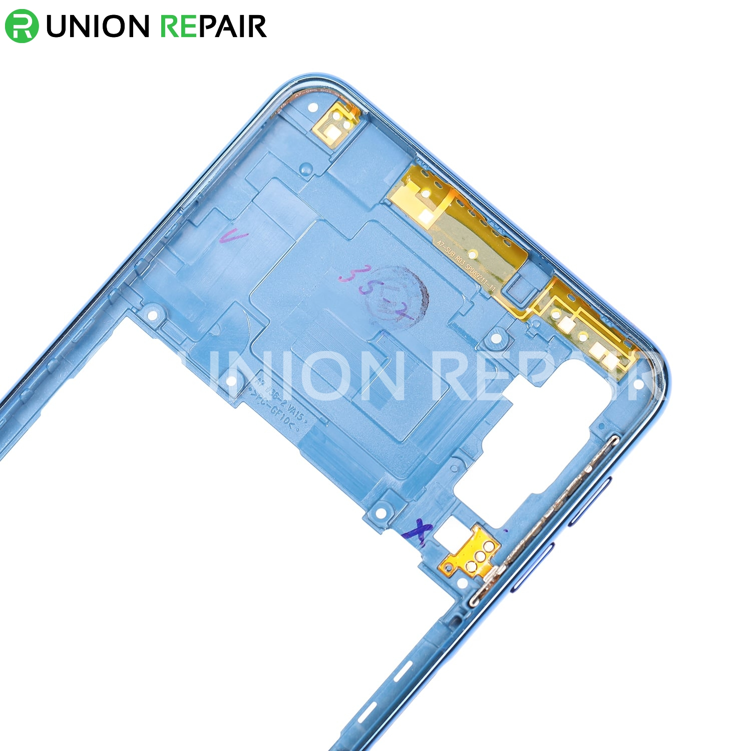 Replacement for Samsung Galaxy A7 (2018) SM-A750 Rear Housing - Blue