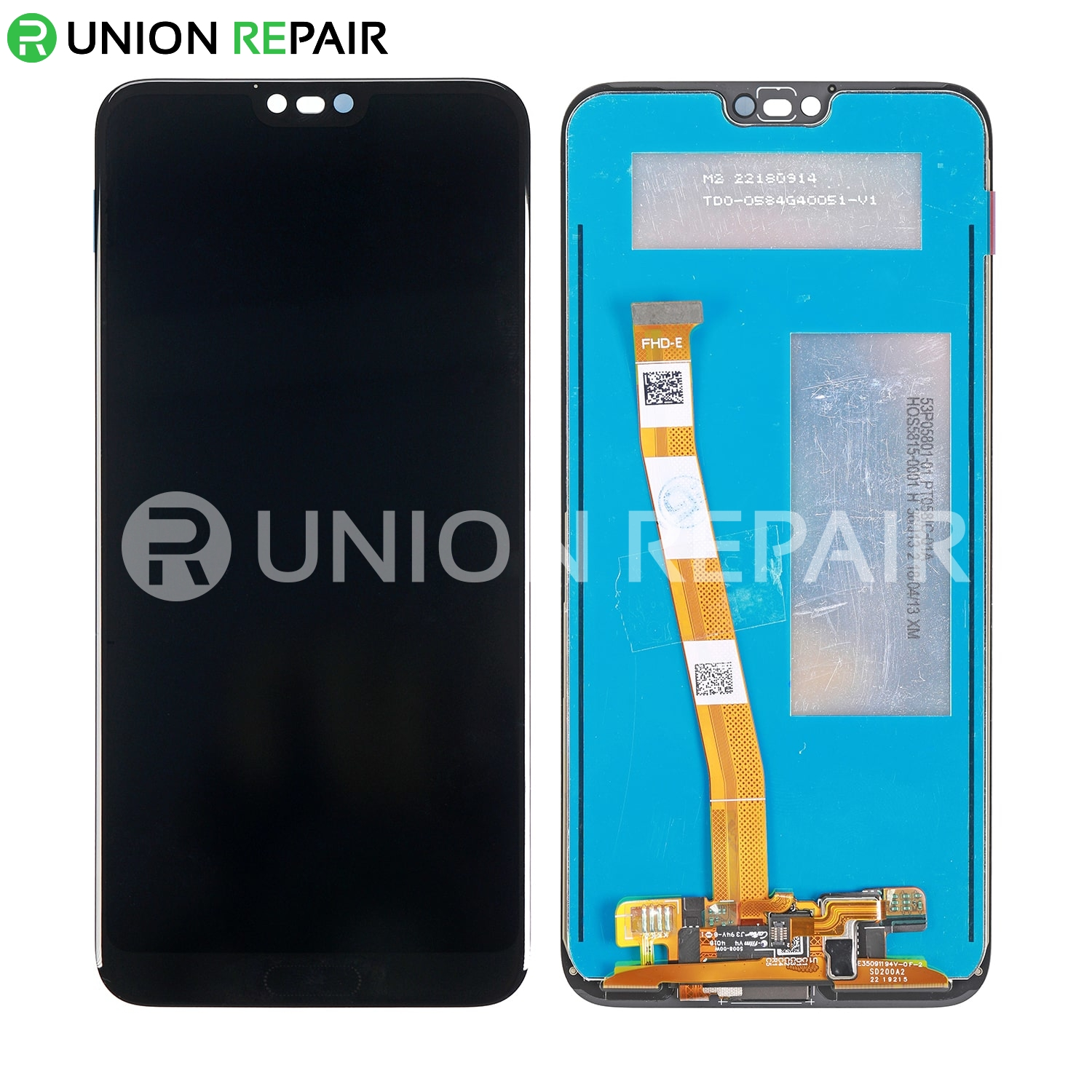 Replacement For Huawei Honor 10 LCD with Digitizer Assembly - Black