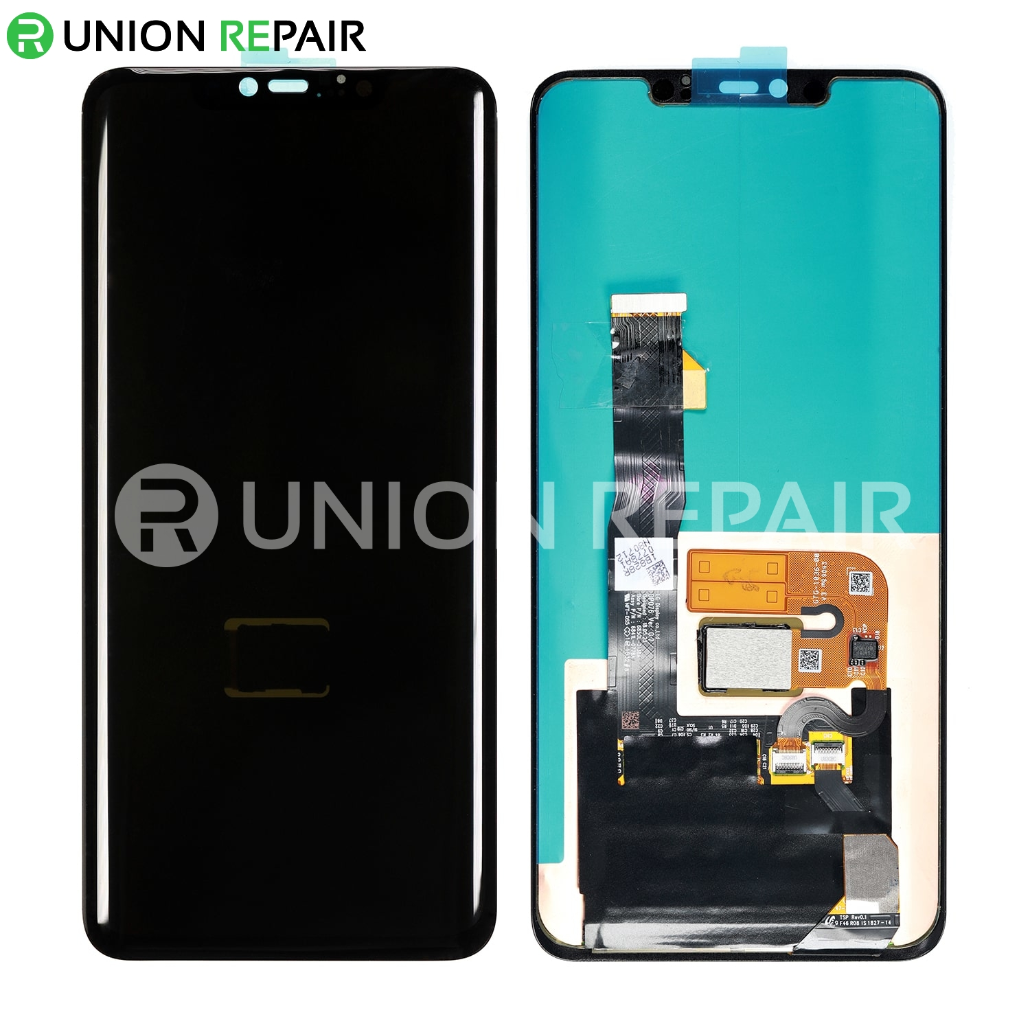 Replacement For Huawei Mate 20 Pro LCD with Digitizer Assembly - Black