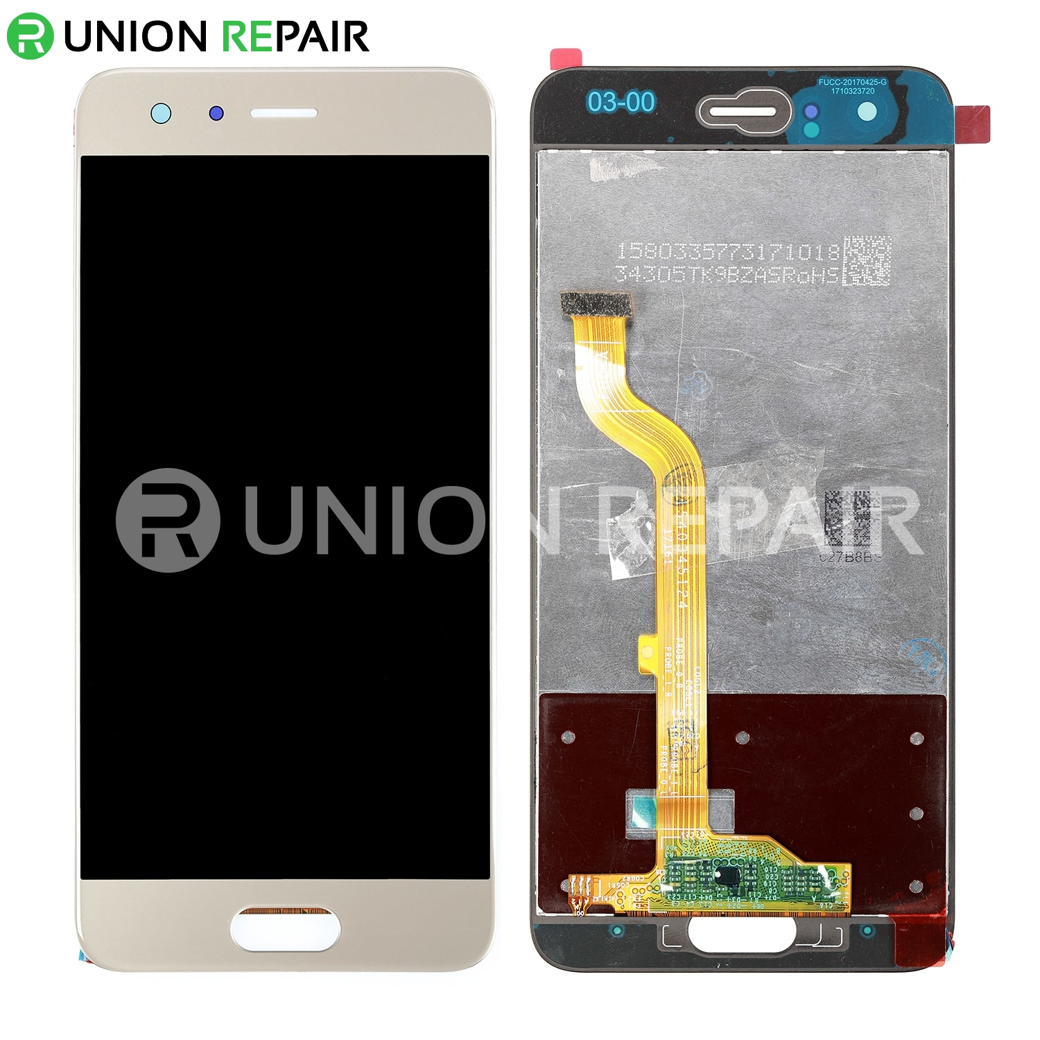 Replacement For Huawei Honor 9 LCD with Digitizer Assembly - Gold