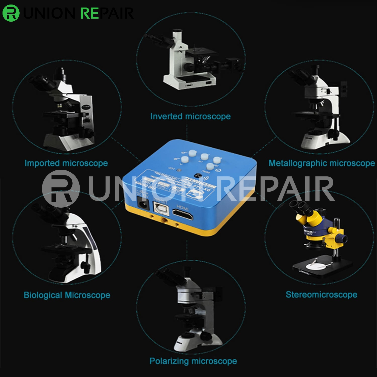 Upgrade Mechanic DX-340 34MP 1080P Microscope HDMI Camera
