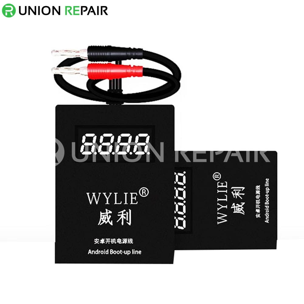 WYLIE Universal DC Power Supply Current Boot Up Test Cable for Android  Phones