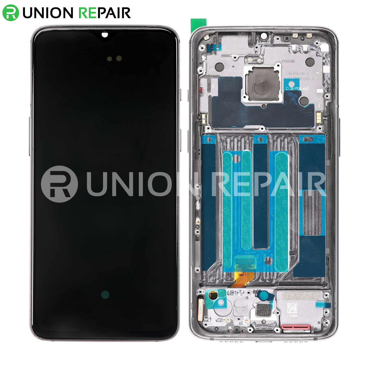 Replacement for OnePlus 7 LCD Screen Digitizer Assembly with Frame - Midnight Black