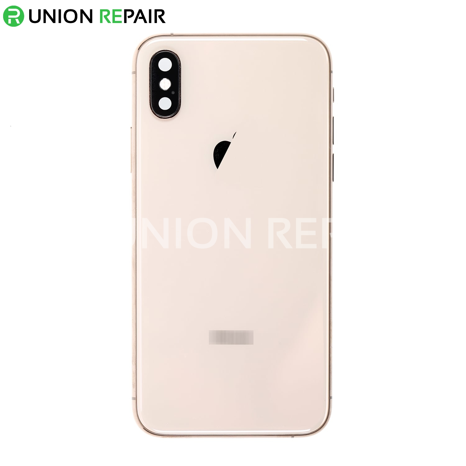Replacement for iPhone Xs Back Cover Full Assembly - Gold