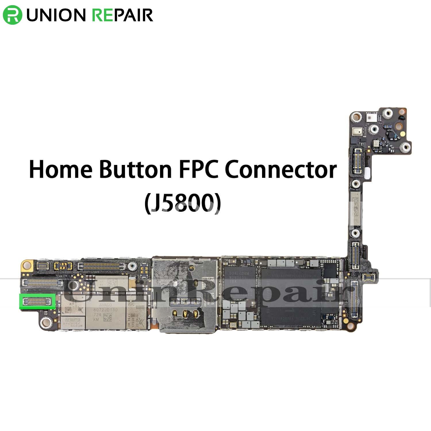 Replacement for iPhone 8/8 Plus 3D Home Button Connector Port Onboard