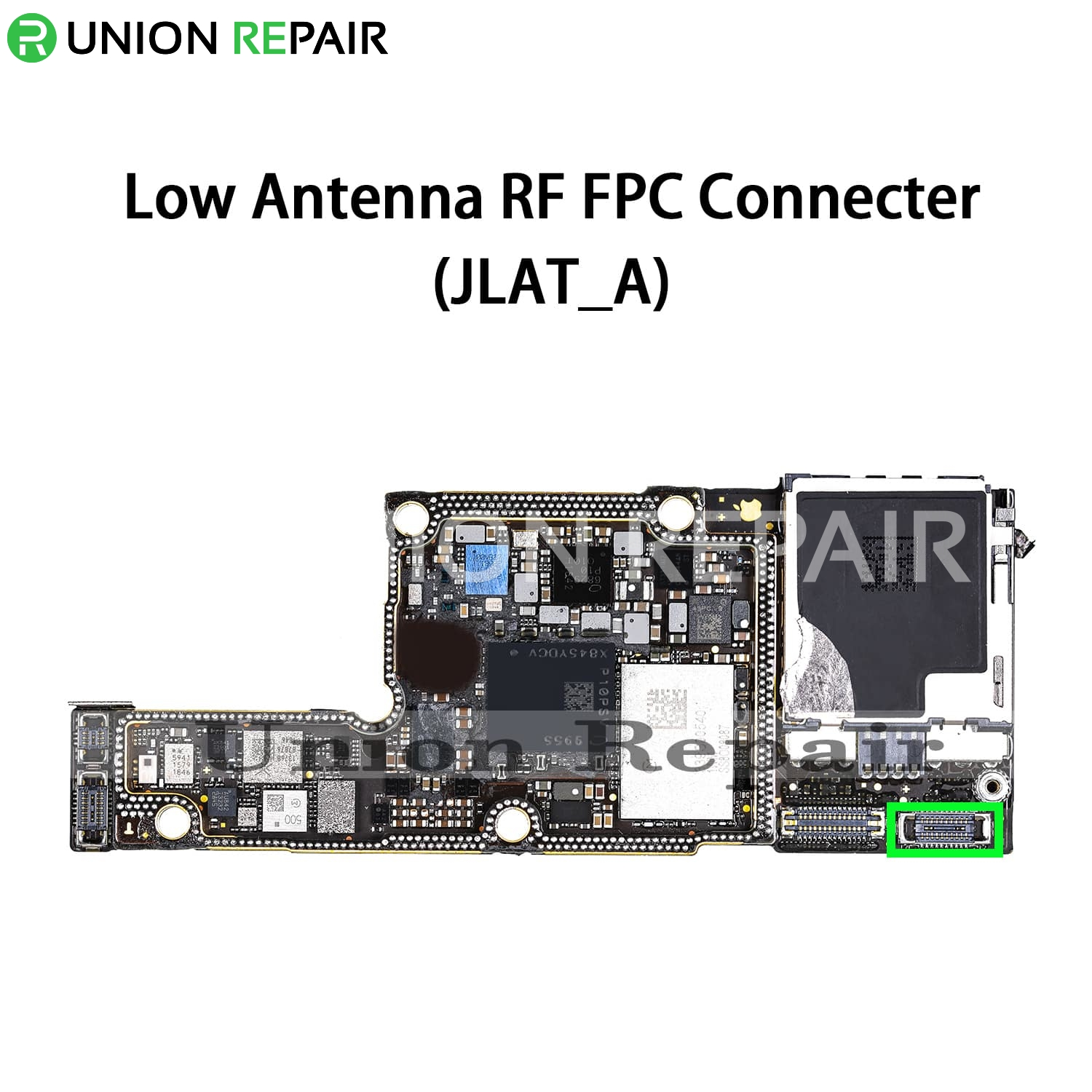 Replacement for iPhone XS Low Antenna RF Connector Port Onboard