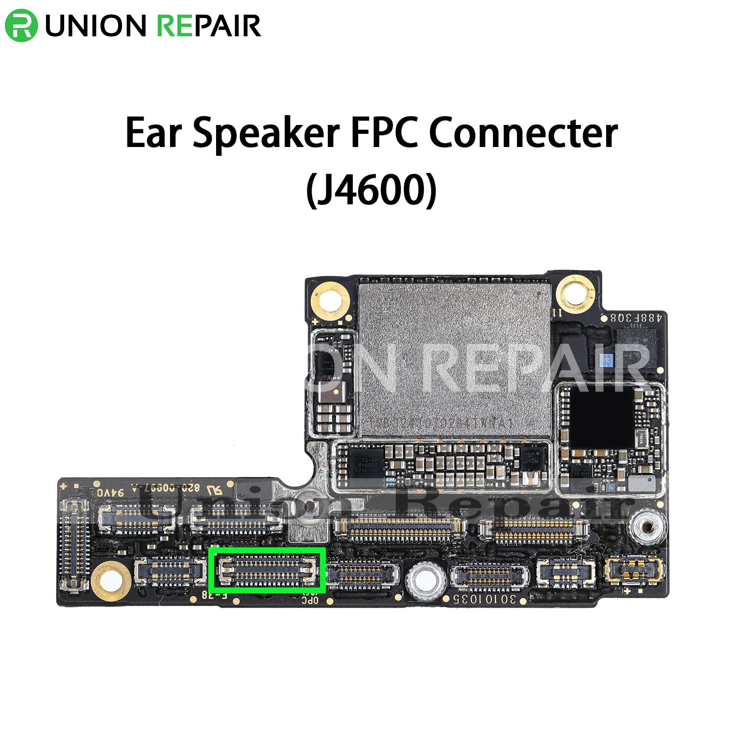 Replacement for iPhone XS EarSpeaker Connector Port Onboard
