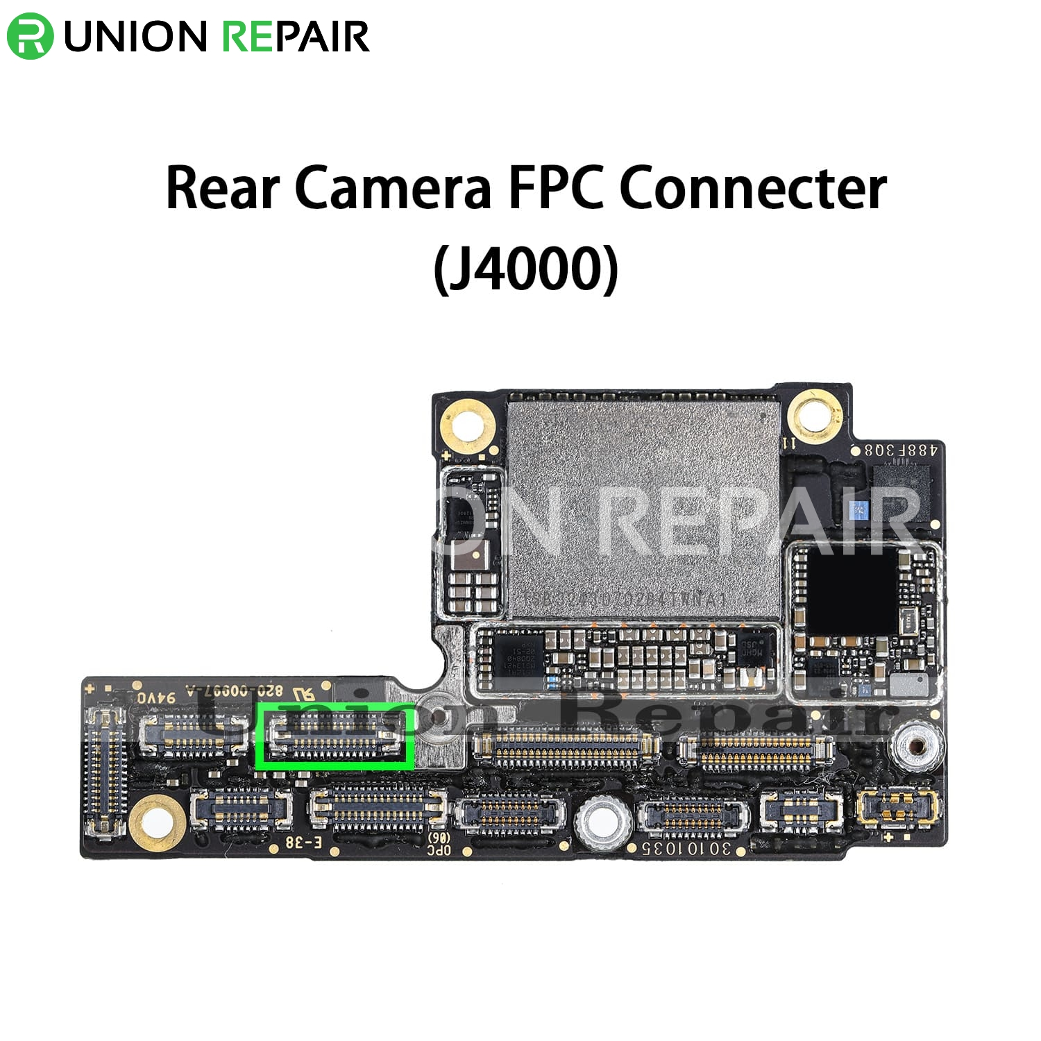 Replacement for iPhone XS Rear Camera Connector Port Onboard