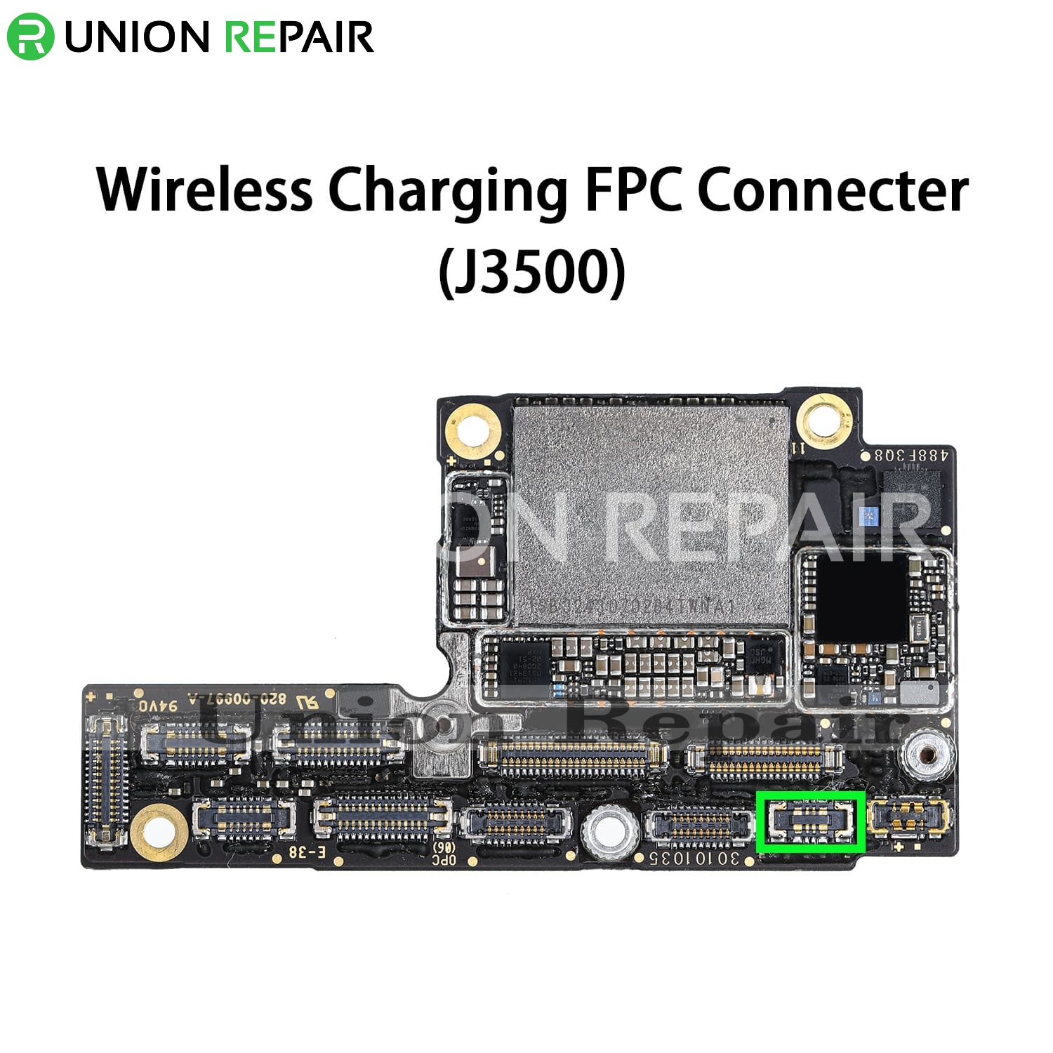 Replacement for iPhone XS Wireless Charging Connector Port Onboard