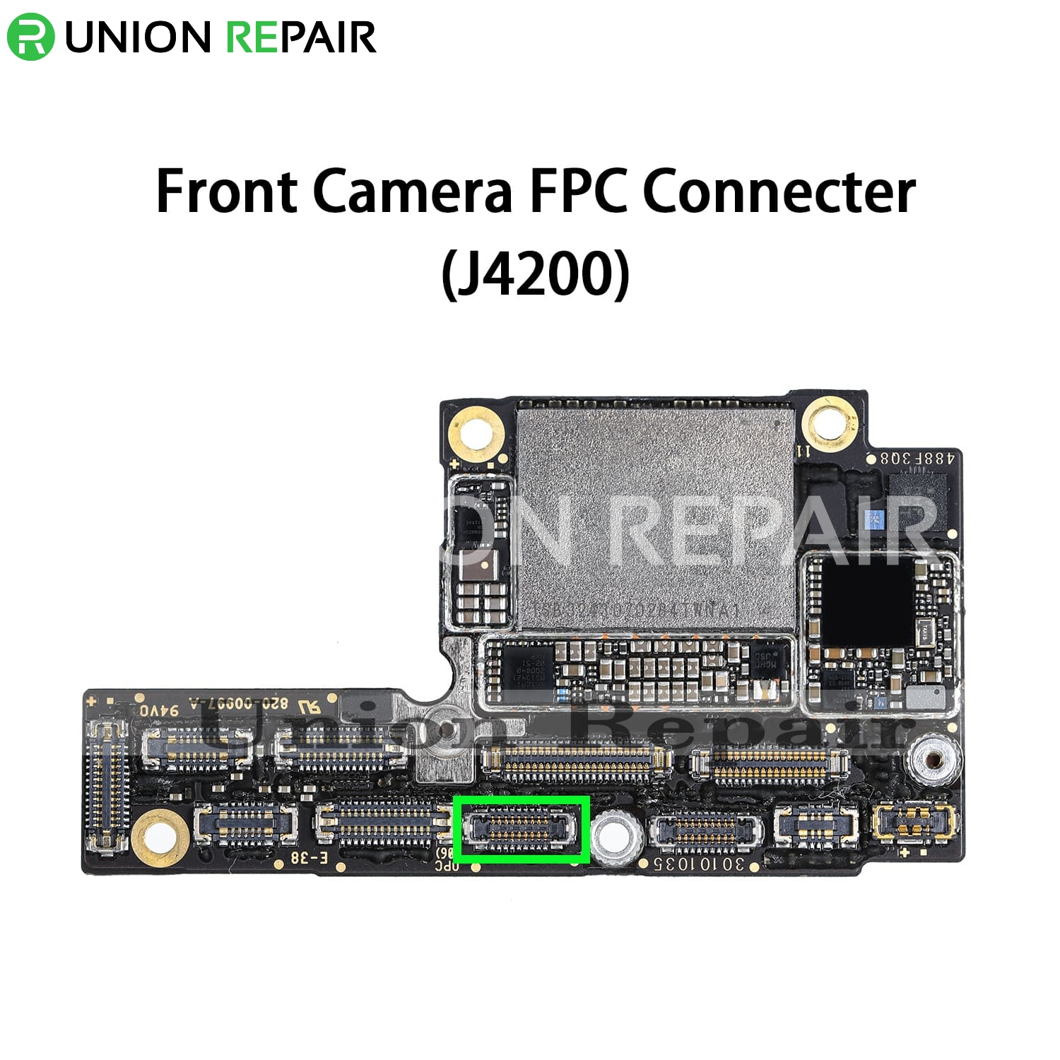 Replacement for iPhone XS Front Facing Camera Connector Port Onboard