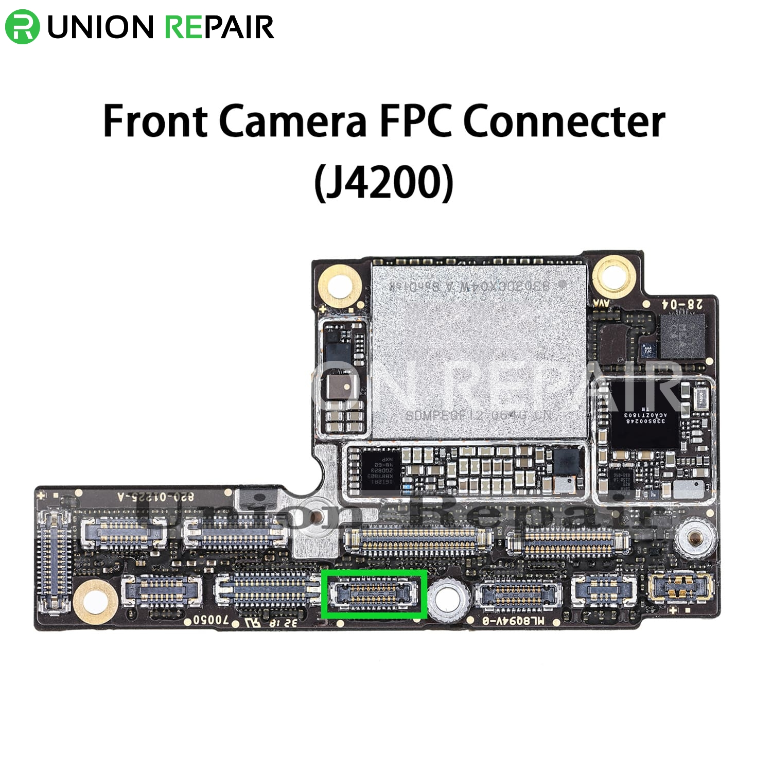 Replacement for iPhone XS MAX Front Camera Connector Port Onboard