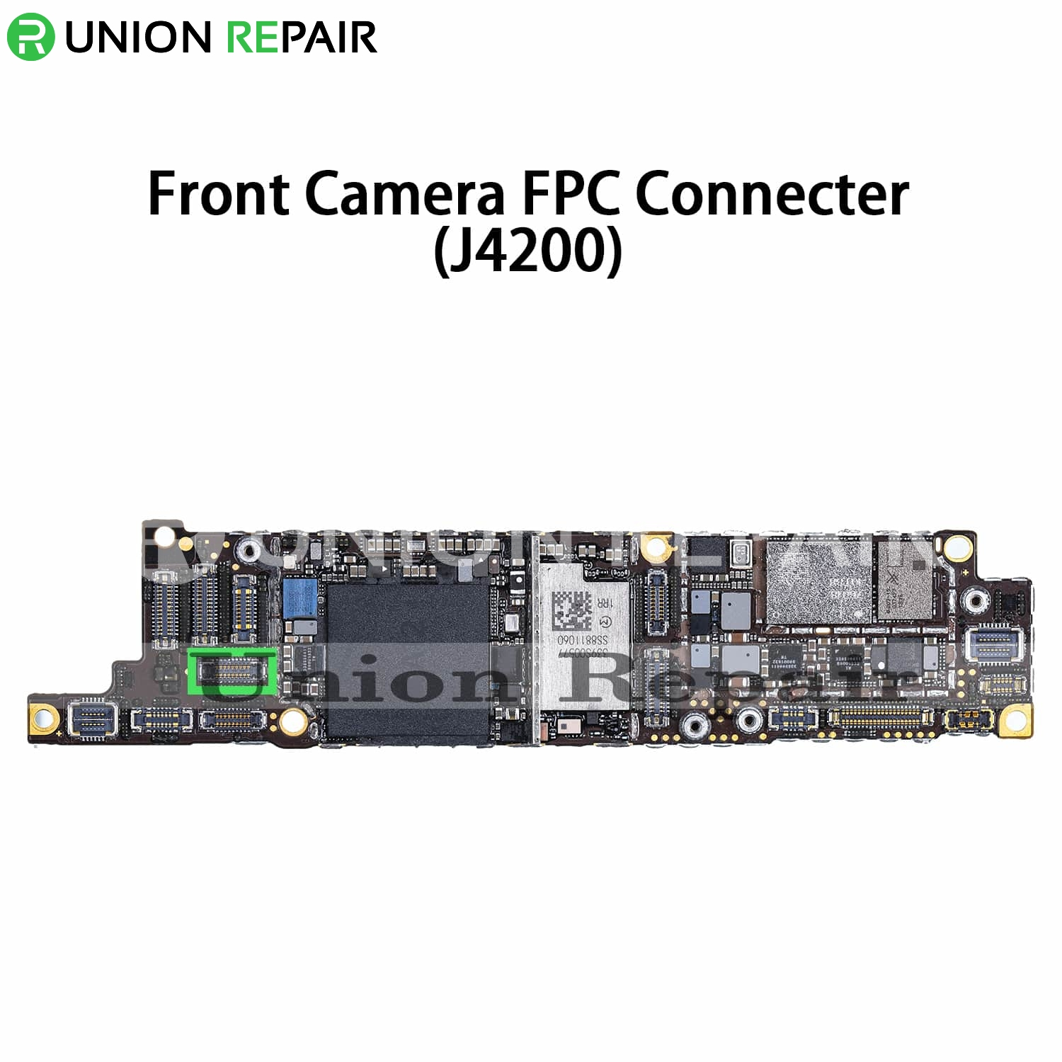 Replacement for iPhone XR Front Camera Connector Port Onboard