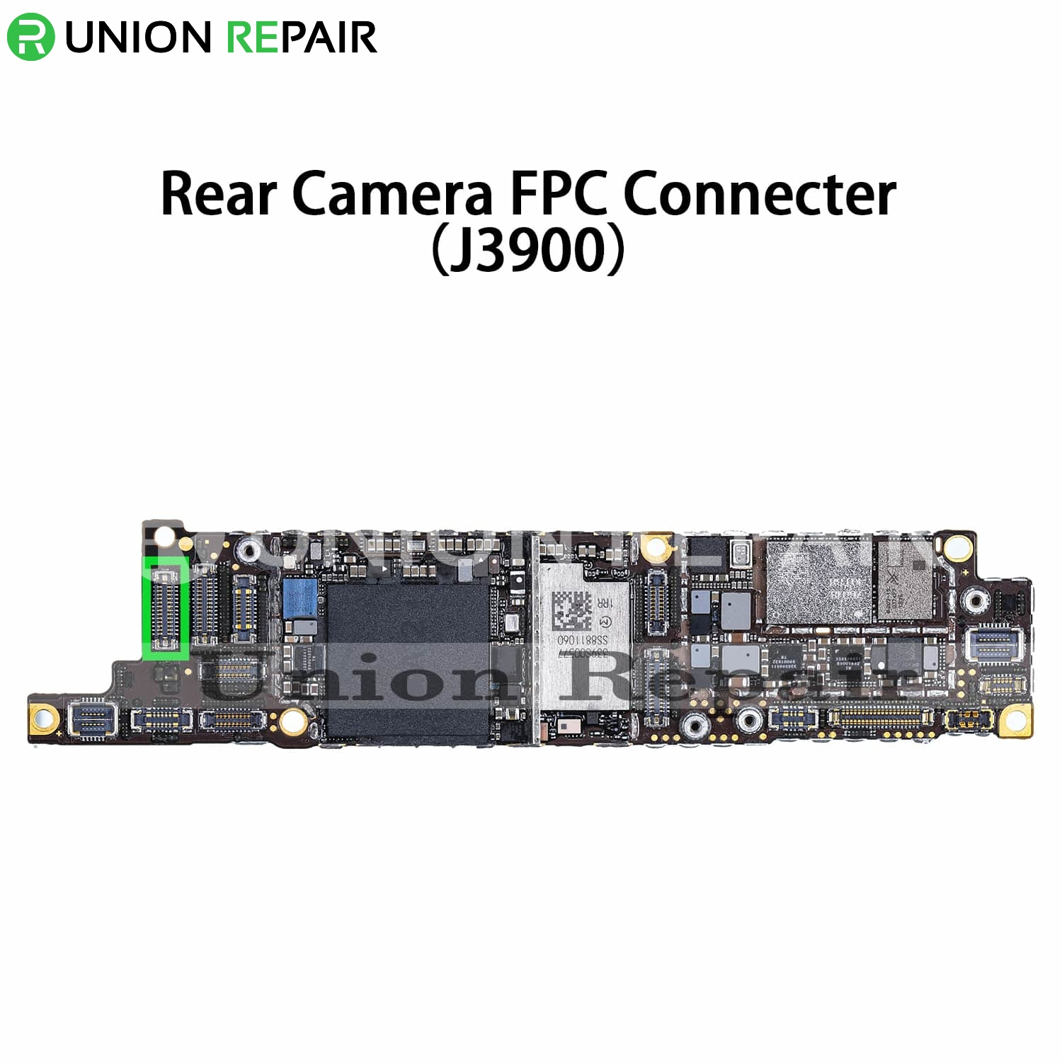 Replacement for iPhone XR Rear Camera Connector Port Onboard