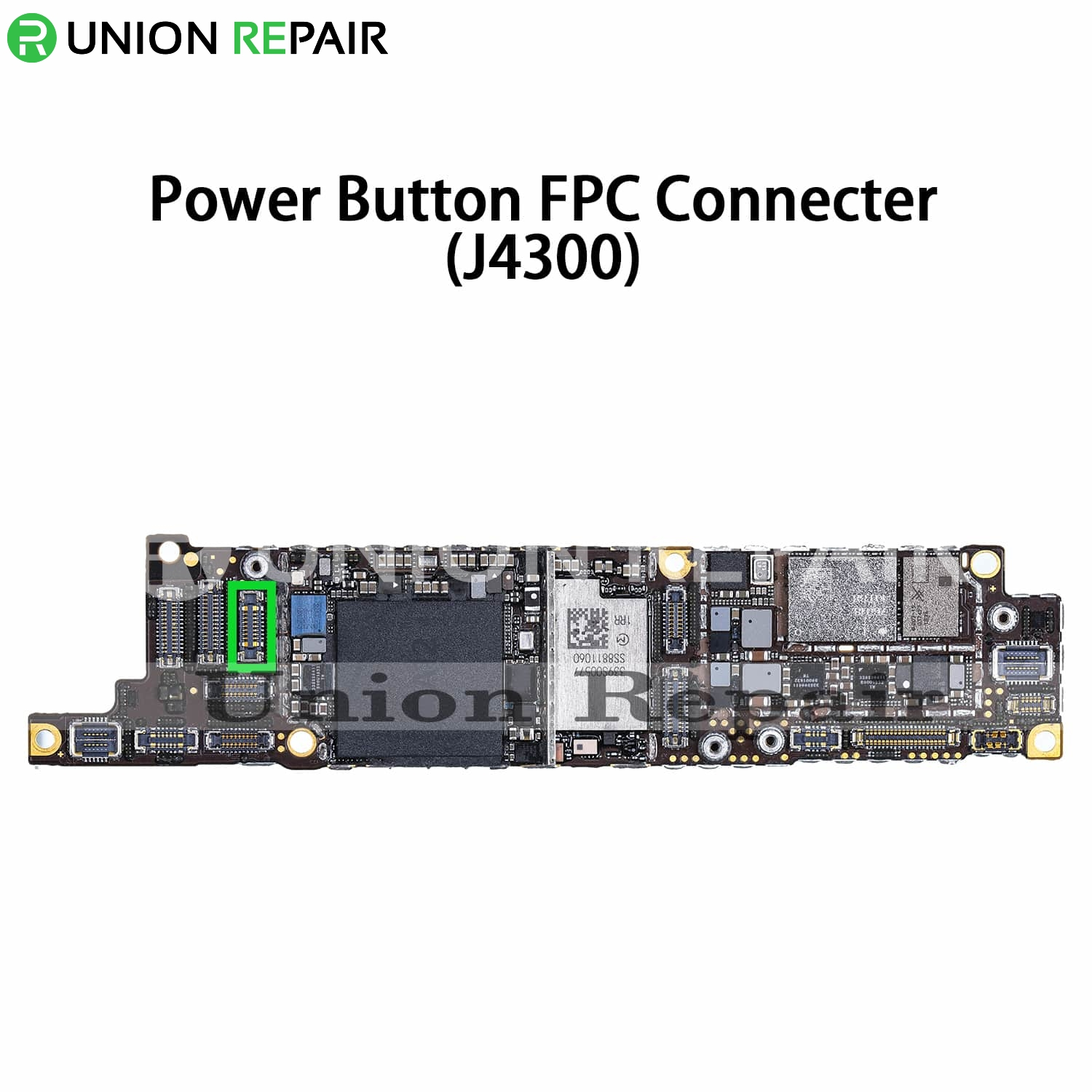 Replacement for iPhone XR Power Button Connector Port Onboard