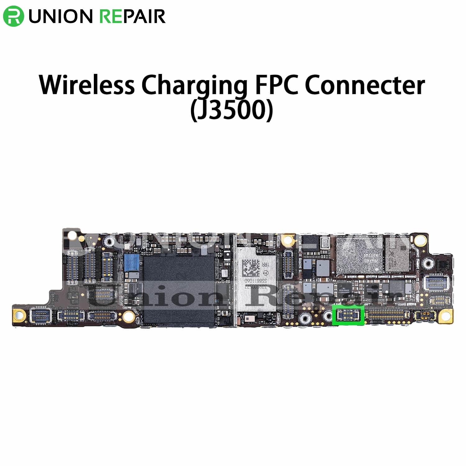 Replacement for iPhone XR Wireless Charger Connector Port Onboard