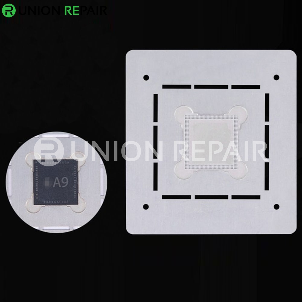 MJ 3D CPU BGA Reball Stencil for A8 A9 A10 CPU, Condition: A8 CPU