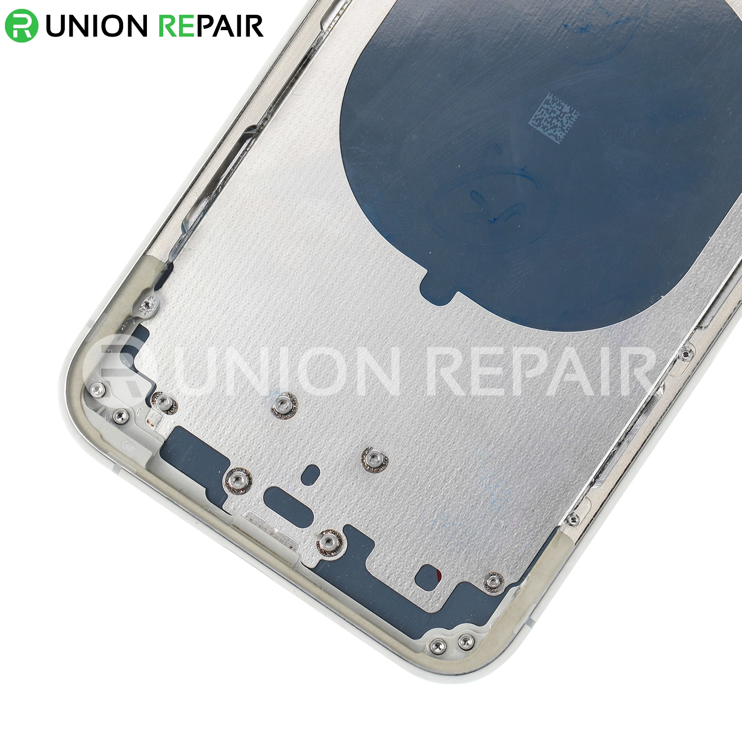 Replacement for iPhone 11 Pro Rear Housing with Frame - Silver