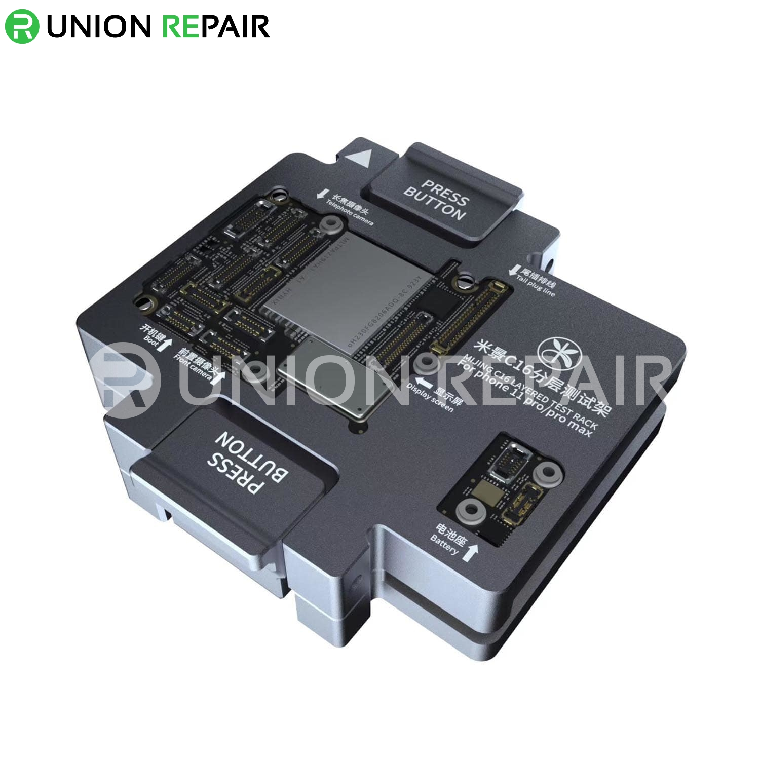 MiJing C16 iPhone 11 Pro /11 Pro Max Main Board Function Testing Fixture