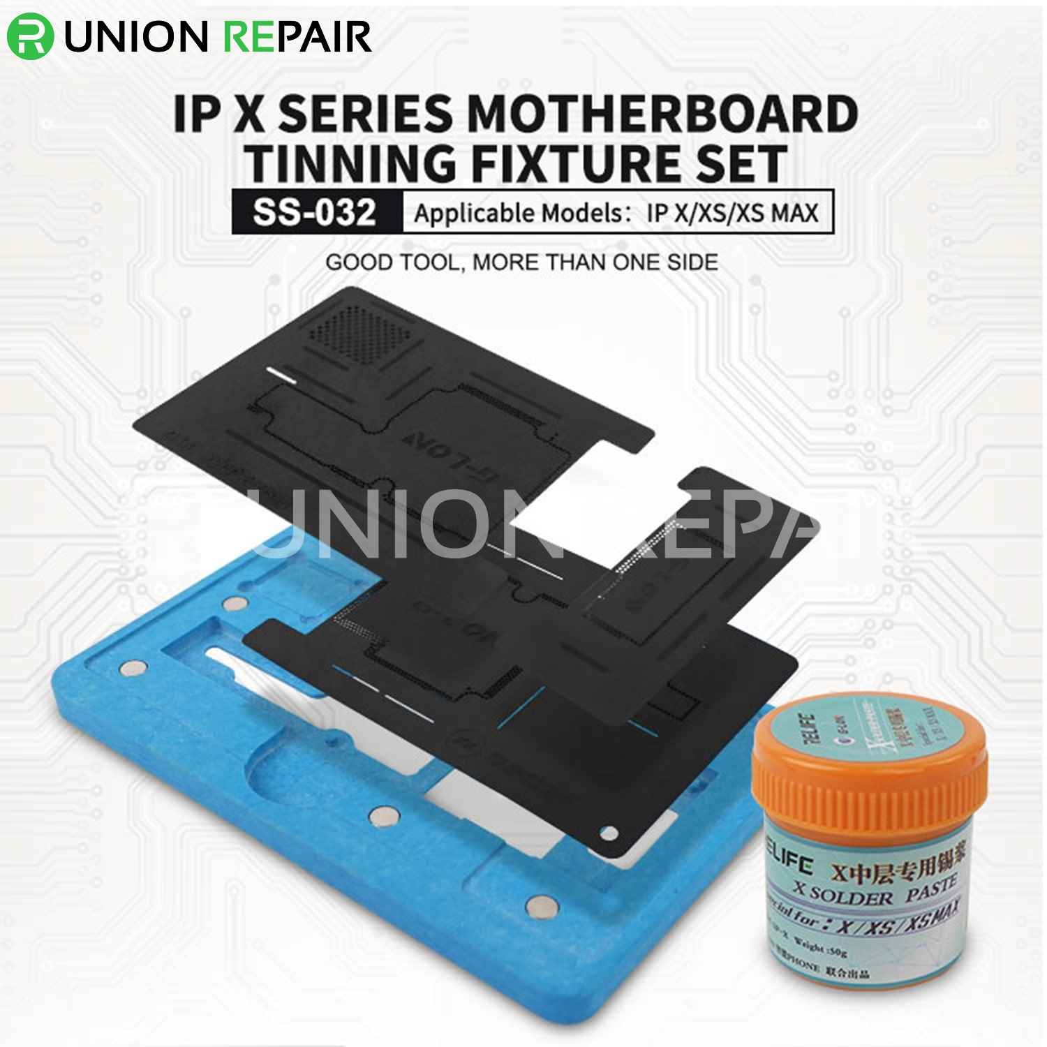 SUNSHINE SS-032 Middle Board BGA Reballing Set for iPhone X/XS/XSMAX