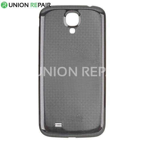 new product 316eb b320a Replacement for Samsung Galaxy S4 i9500 Back Cover Black
