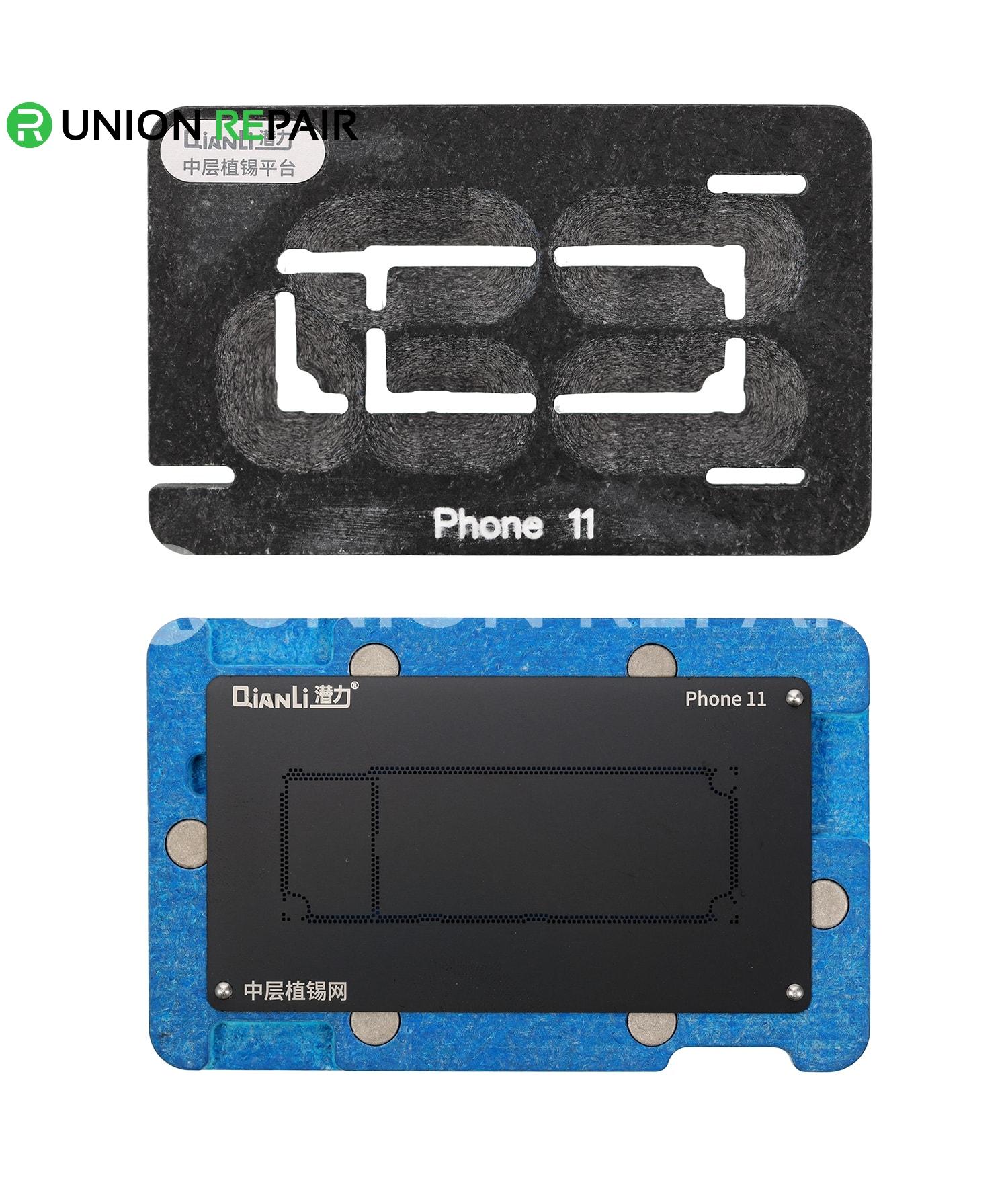 QianLi ToolPlus Middle Frame Reballing Platform for iPhone 11