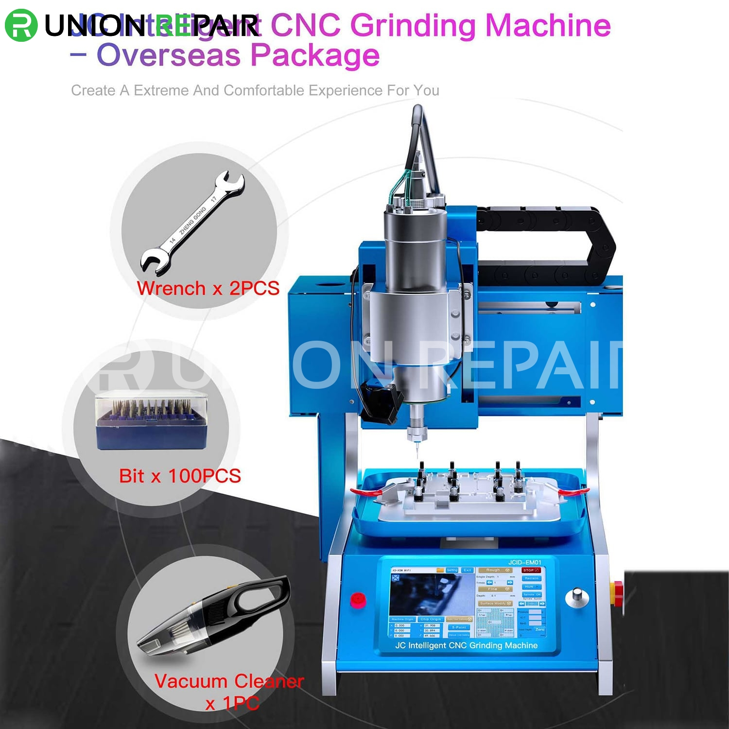 JCID EM01 Intelligent CNC Grinding Machine