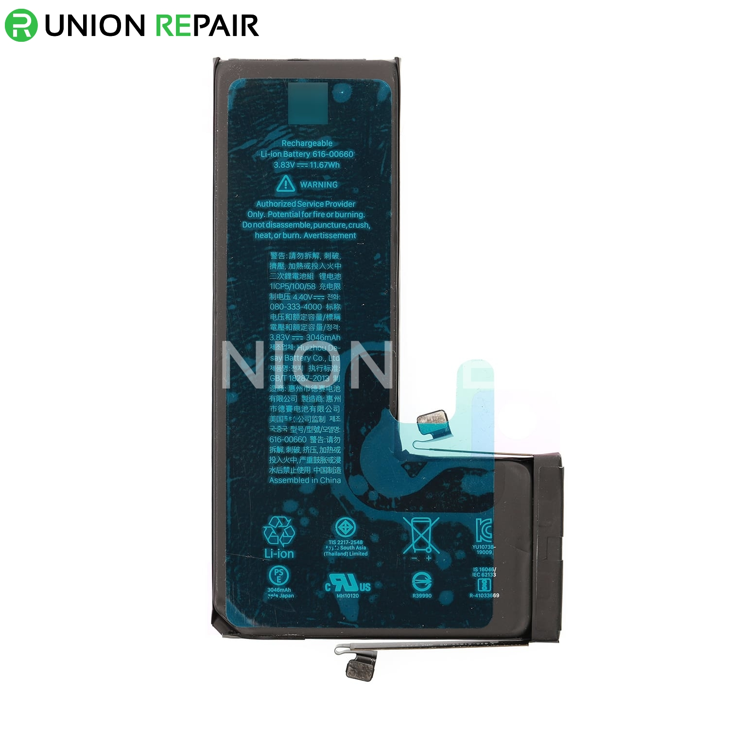 Replacement for iPhone 11 Pro Battery 3046mAh