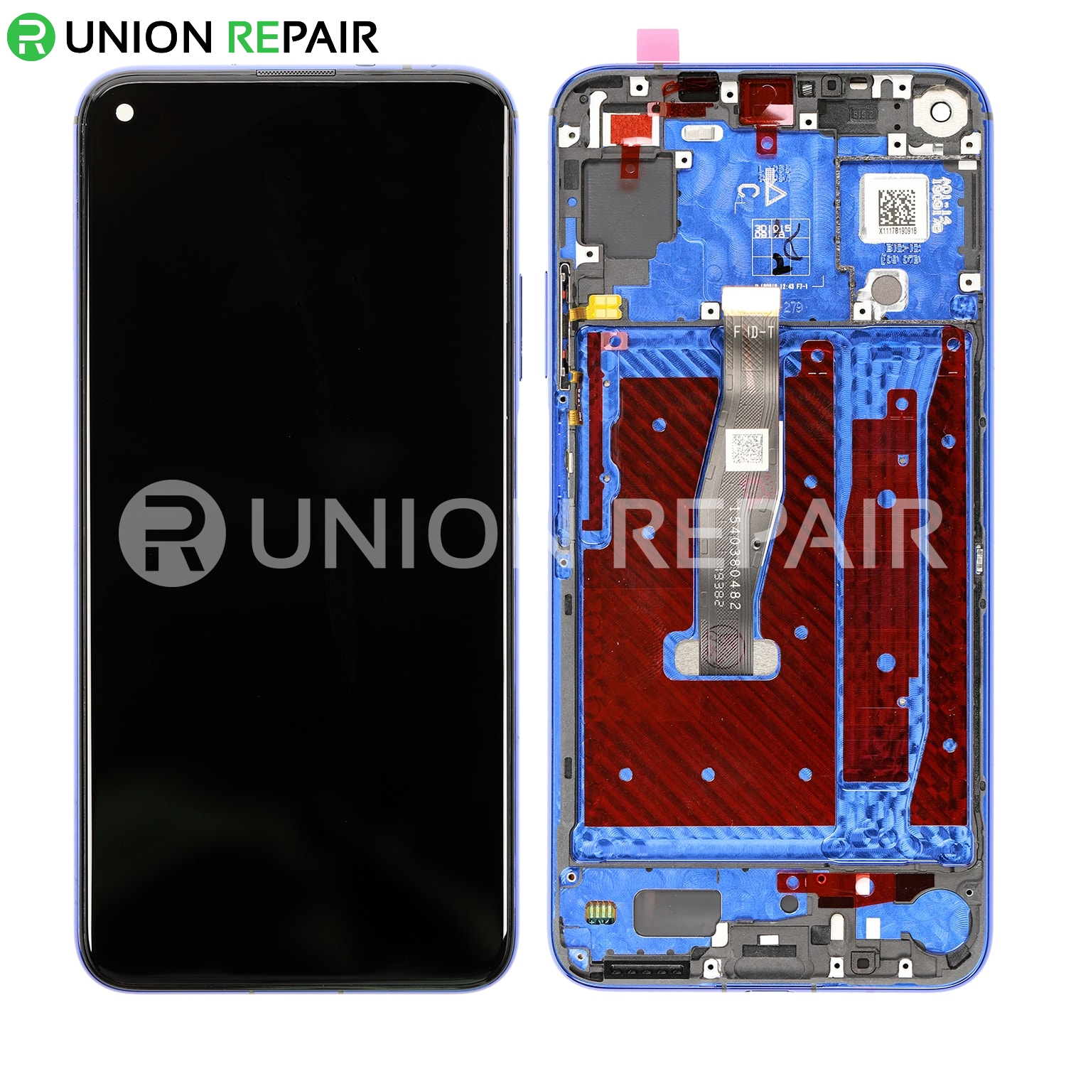 Black Color : Black CHENN LCD Screen and Digitizer Full Assembly with Frame for Huawei Honor 20 LCD Screen Replacement
