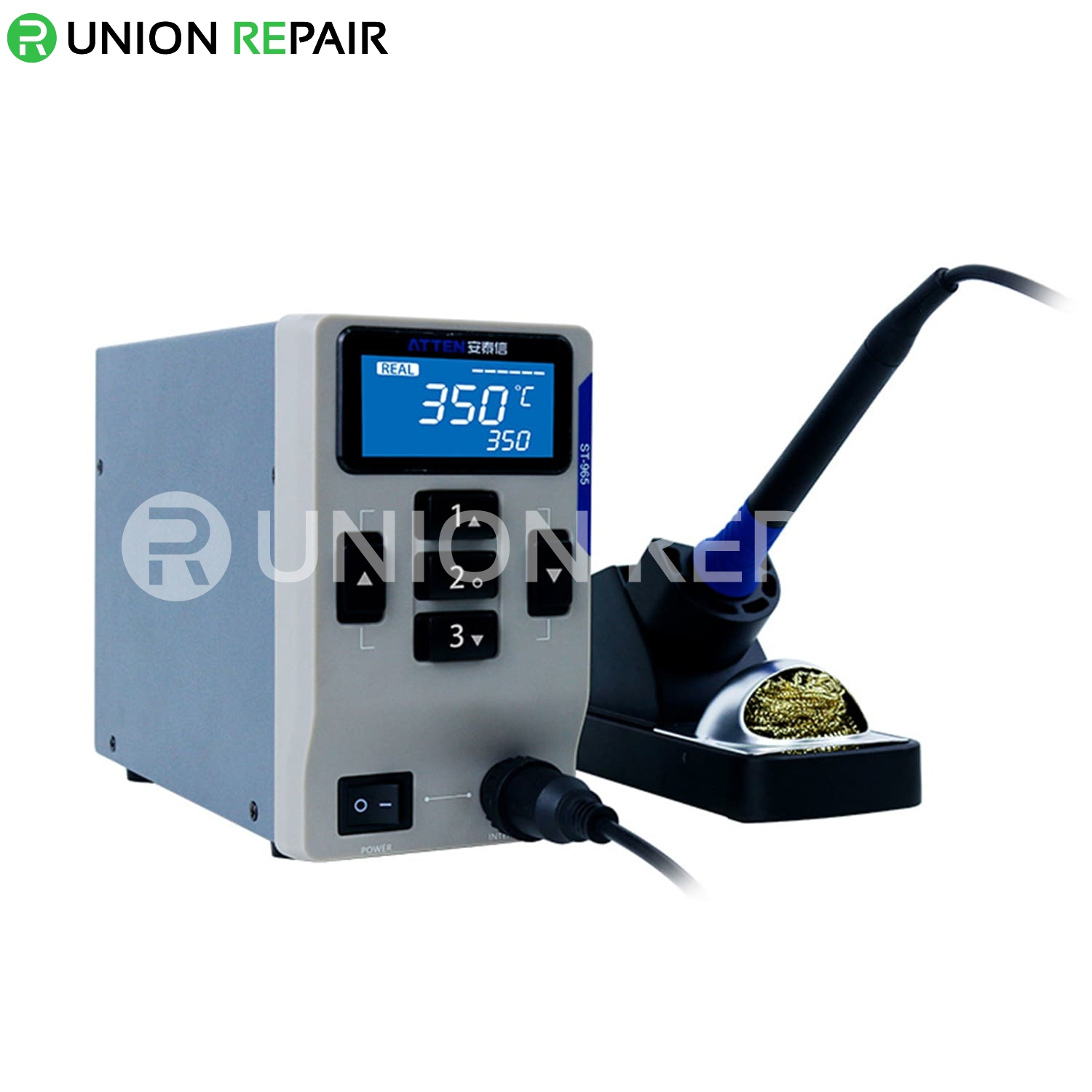 ATTEN MS-300 3in1 Combination Hot Air Gun Desoldering Station DC Power Supply Maintenance System