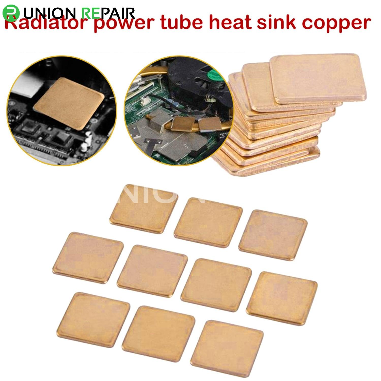 Copper Slice Radiator for Phone Repair Chip Cooling (10pcs/set)