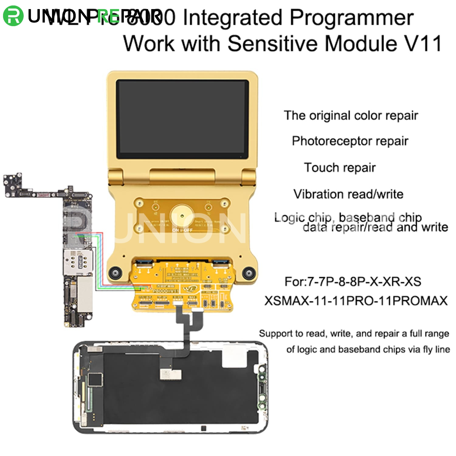 WL Pro 8000 Integrated programmer for Battery Test Light Sensor Restorer NAND Read Write, Condition: Pro 8000 Main Unit