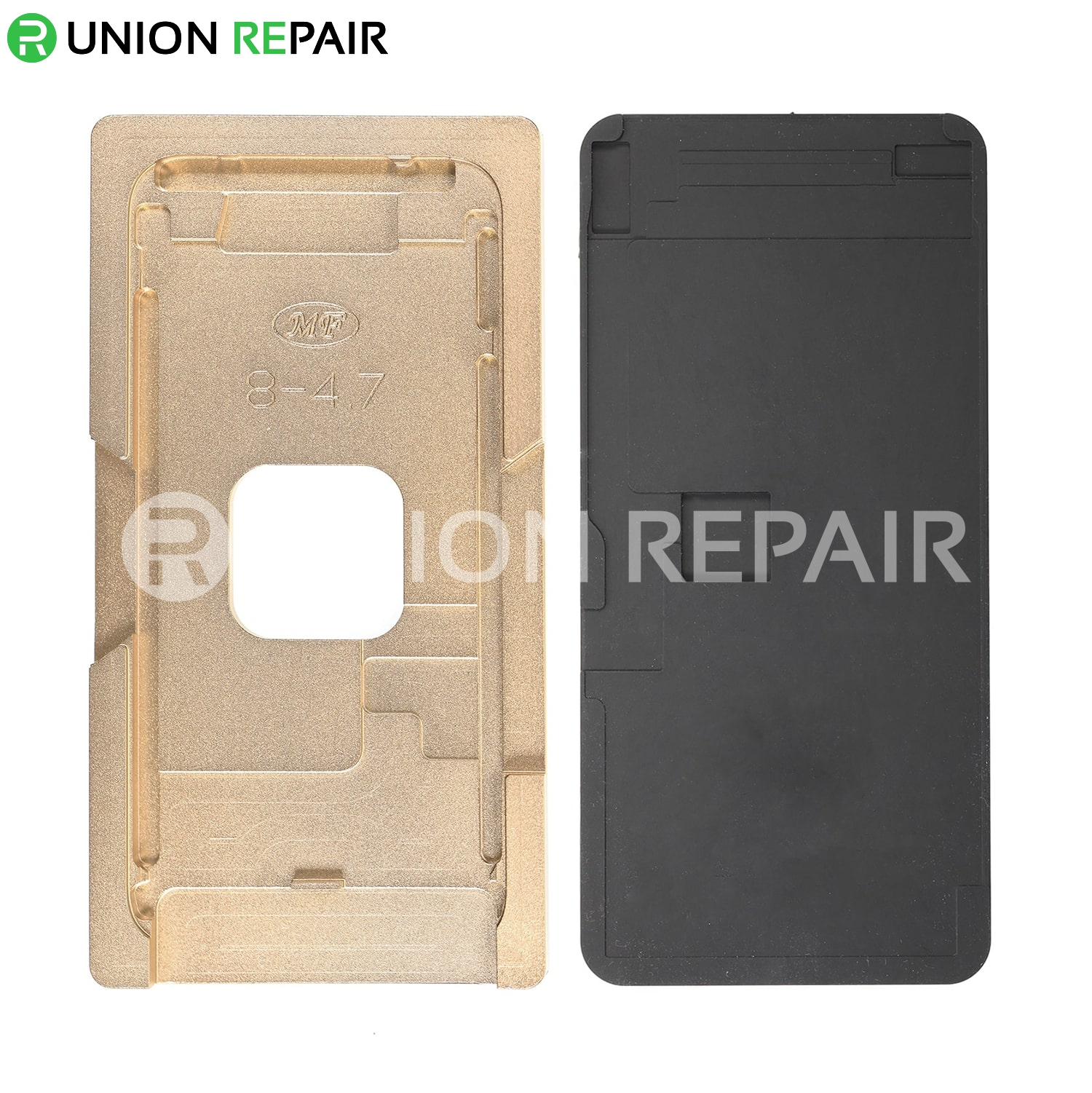 Aluminium Alloy LCD Screen Laminating Positioning Mould for iPhone 8