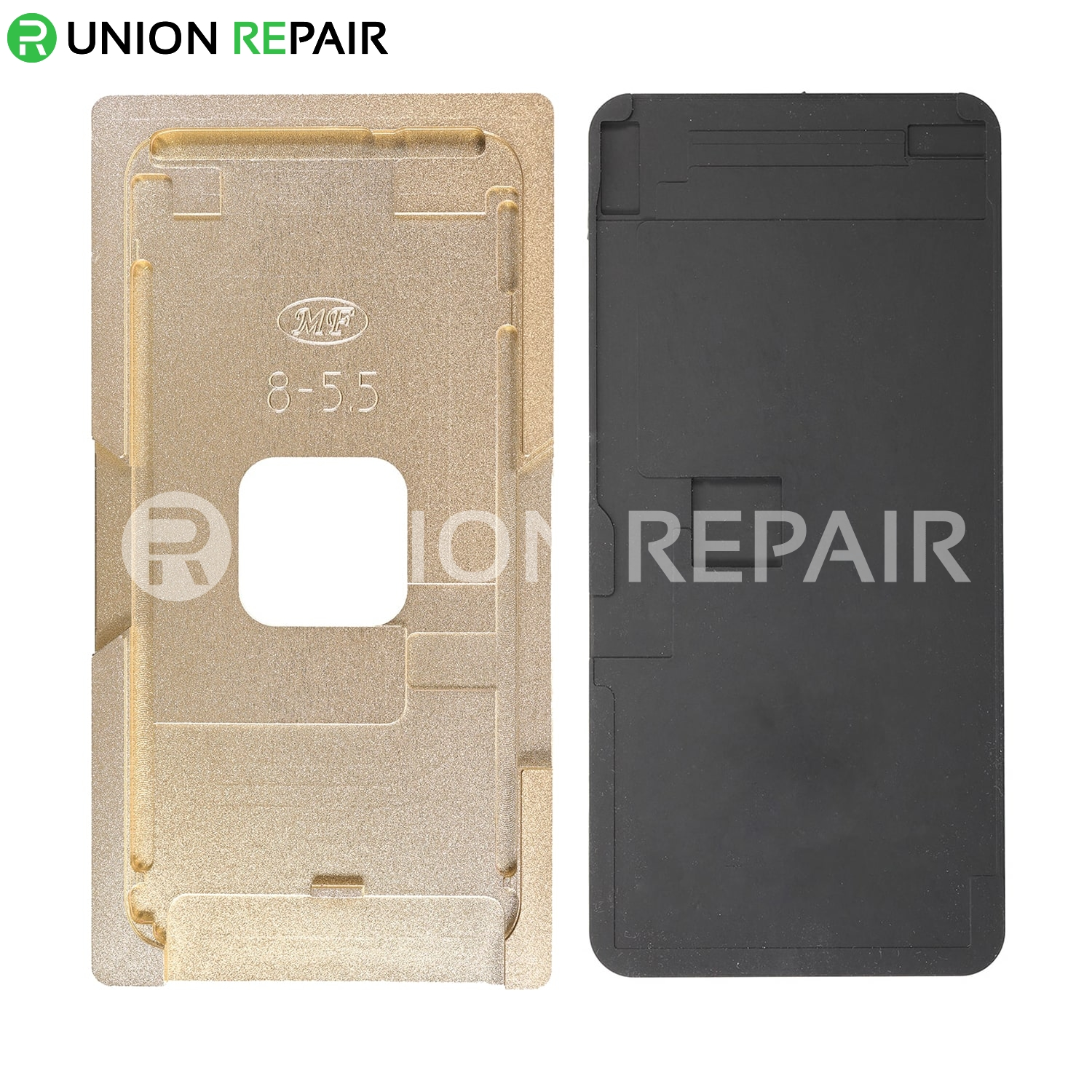 Aluminium Alloy LCD Screen Laminating Positioning Mould for iPhone 8 Plus