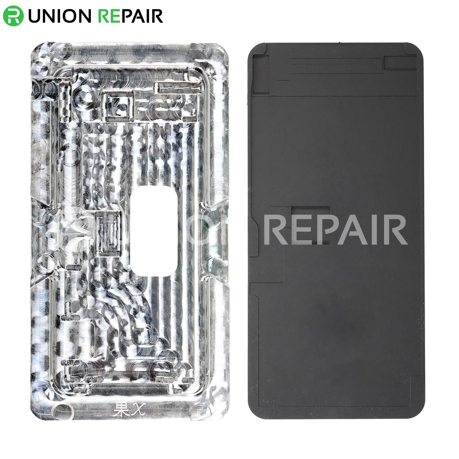 Aluminium Alloy LCD Screen Laminating Positioning Mould for iPhone X, fig. 1