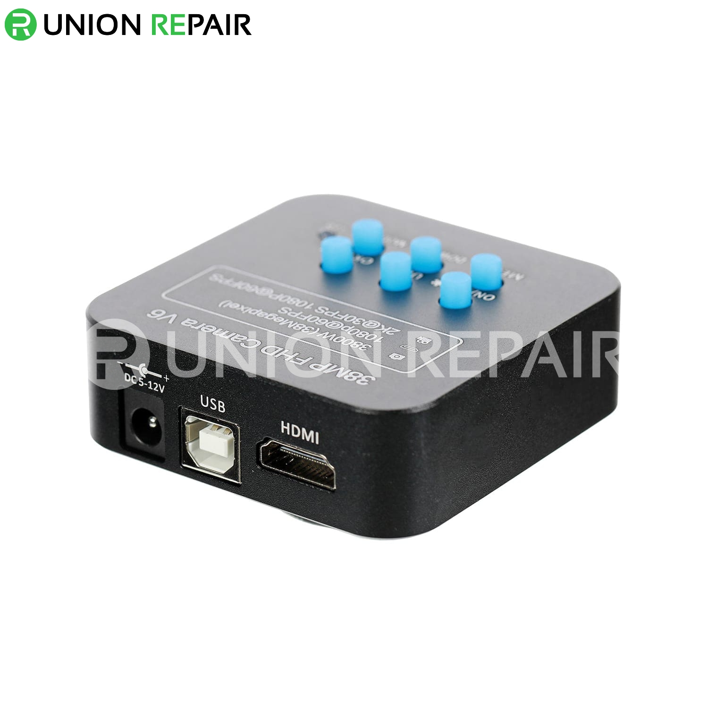 48MP 4800W FHD V8 HDMI Industrial Microscope Camera